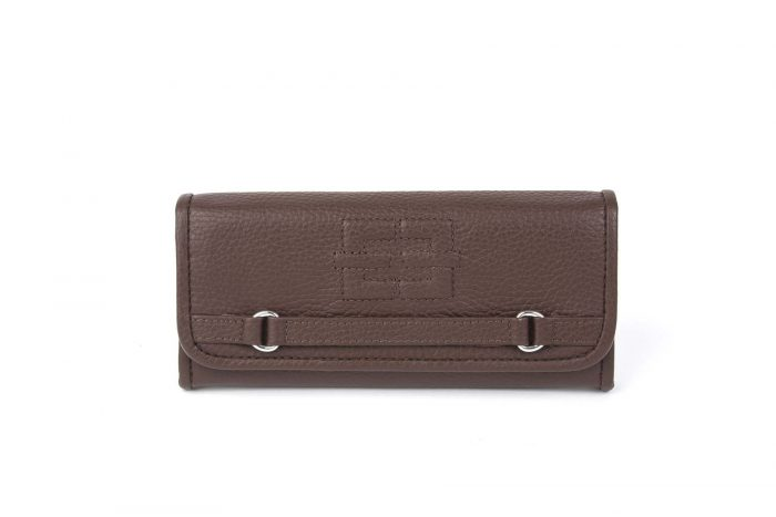 Portemonnaie Treasured Single braun