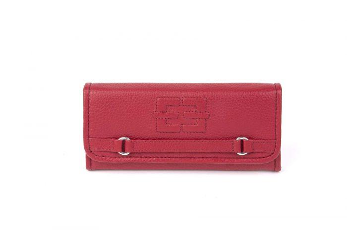 Portemonnaie Treasured Single rot