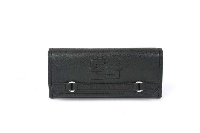Portemonnaie Treasured Single schwarz