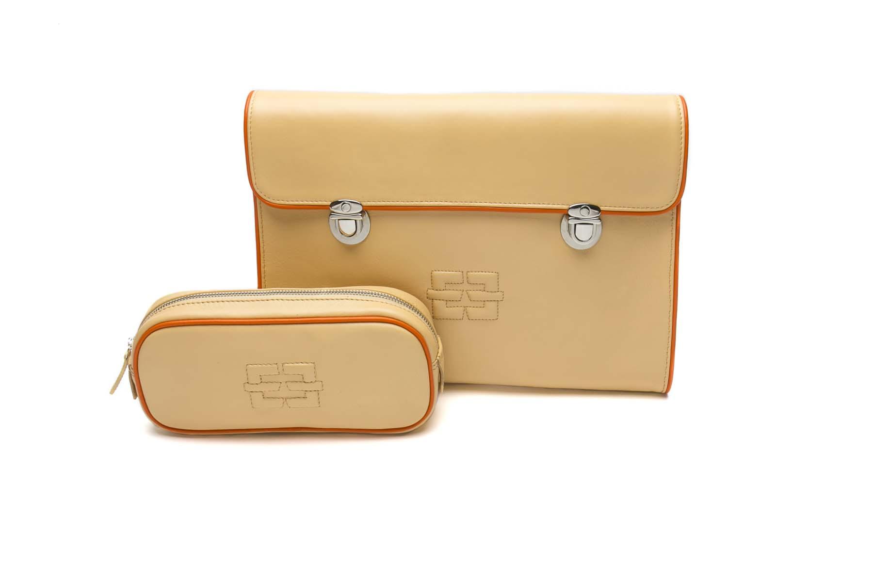 Tablet Bag Peaches & Orange pfirsich-orange